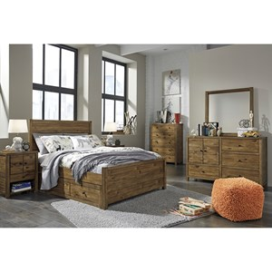 Signature Design by Ashley Fennison Twin Bedroom Group