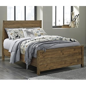 Signature Design by Ashley Fennison Twin Panel Bed
