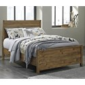 Signature Design by Ashley Fennison Full Panel Bed - Item Number: B544-87+84+86