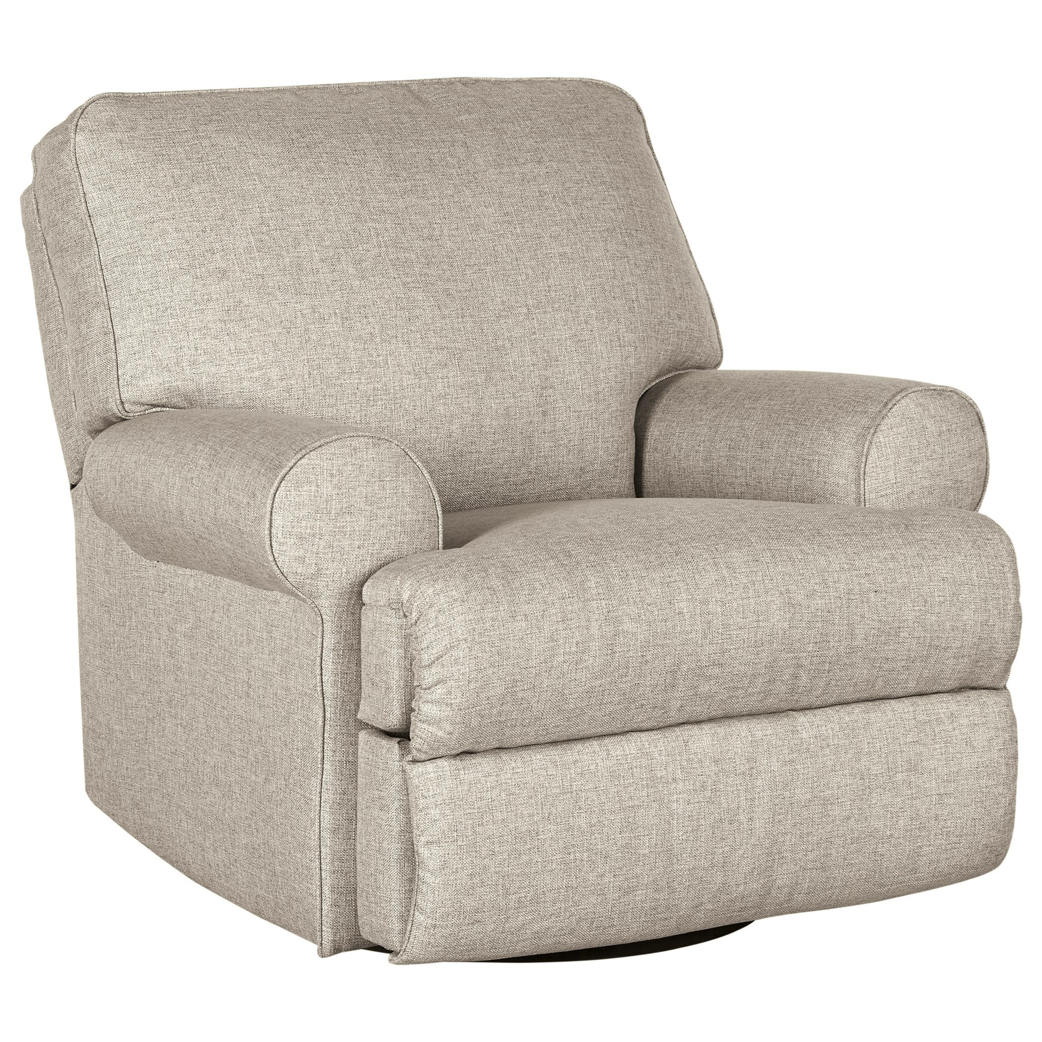 Ferncliff Ferncliff Swivel Glider Recliner by Ashley at Morris Home