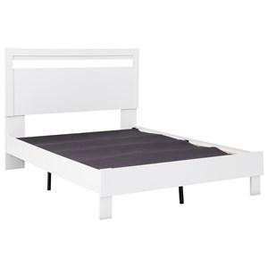 Full Panel Platform Bed