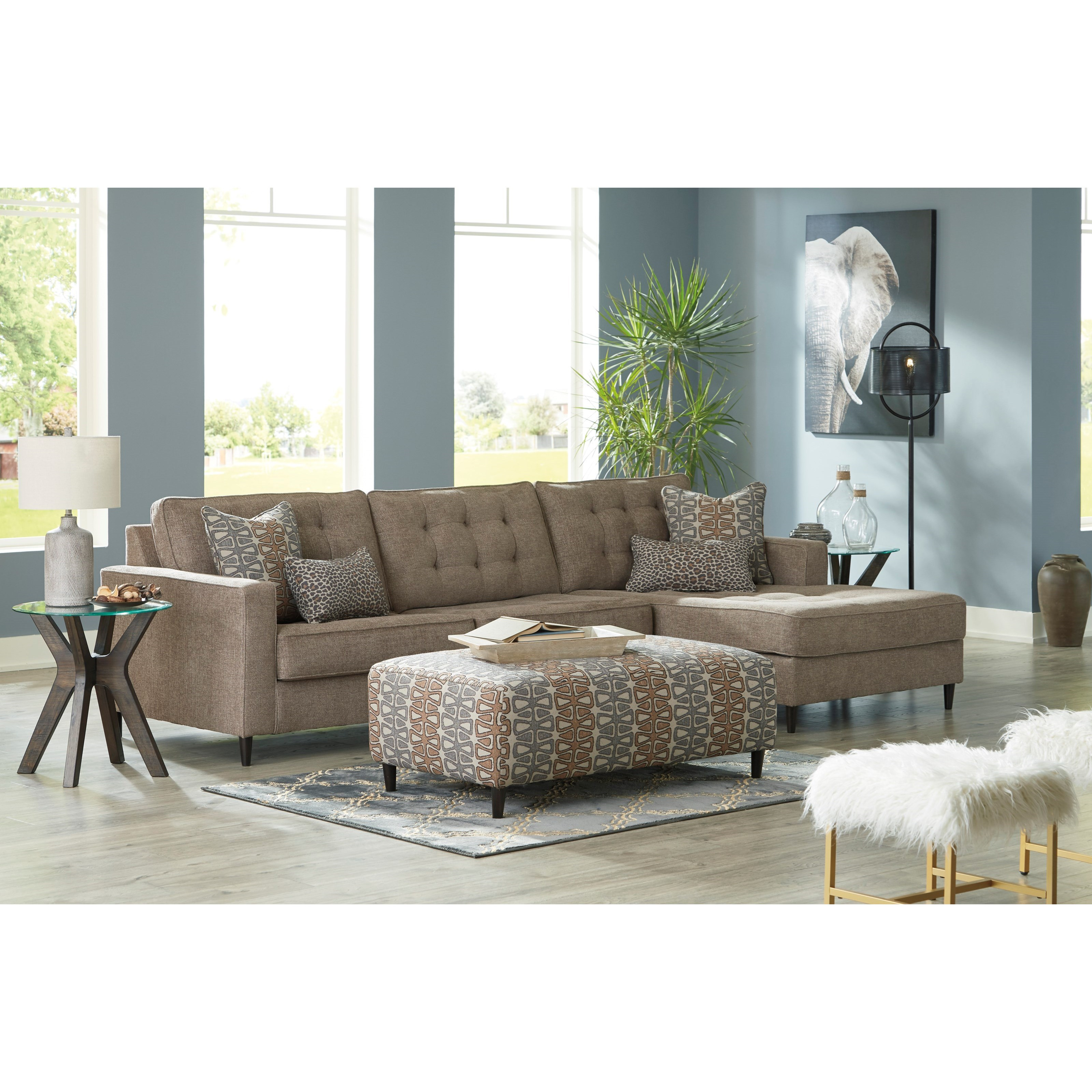 Flintshire Living Room Group by Ashley (Signature Design) at Johnny Janosik