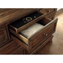 Signature Design by Ashley Flynnter Dresser with Hidden Felt-Lined Jewelry Drawer