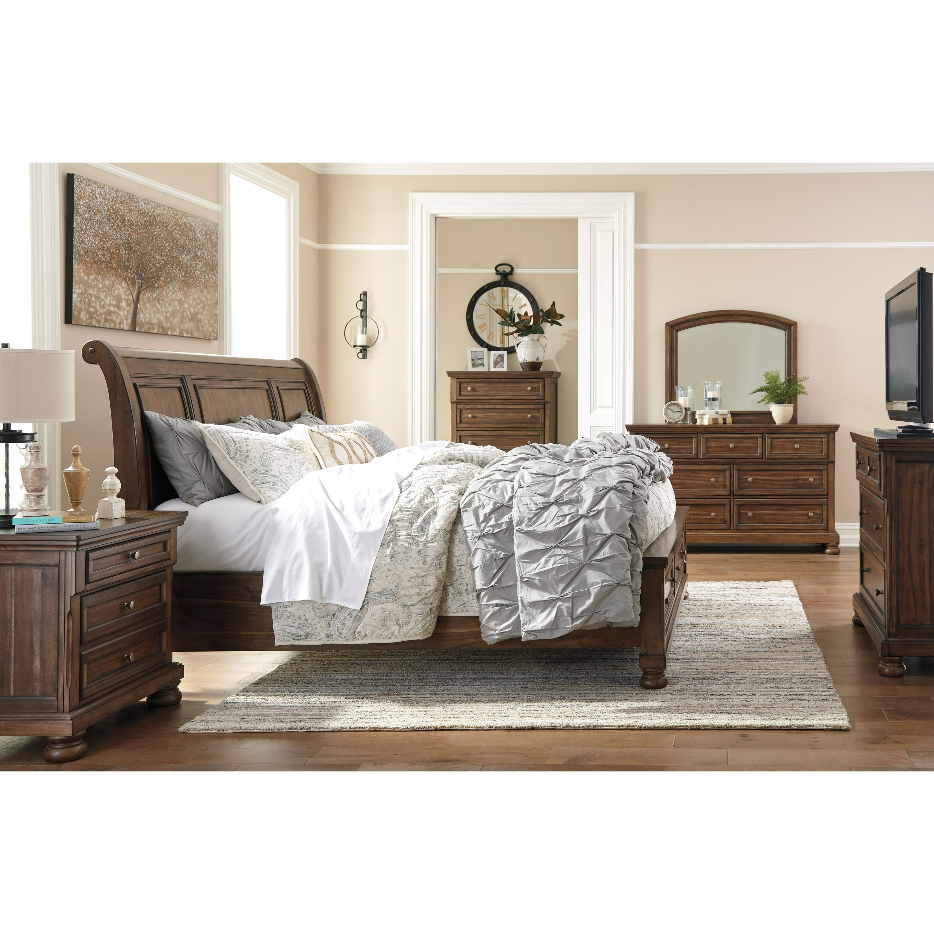 39 Best Images About Bed Room Sets On Pinterest: Signature Design By Ashley Flynnter B719-39 Media Chest