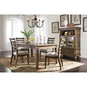 Signature Design by Ashley Flynnter Dining Room Group - Item Number: D719 Dining Room Group 1