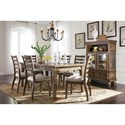 Signature Design by Ashley Flynnter Dining Room Group - Item Number: D719 Dining Room Group 2