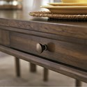 Signature Design by Ashley Flynnter Rectangular Dining Table with Built-In Drawers