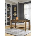 Signature Design by Ashley Flynnter Home Office Desk with Three Drawers