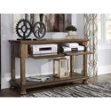Signature Design by Ashley Flynnter Console Sofa Table with Drop-Front Drawers