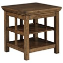 Signature Design by Ashley Flynnter Square End Table - Item Number: T919-2