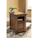 Signature Design by Ashley Flynnter 1 Drawer Chair Side End Table