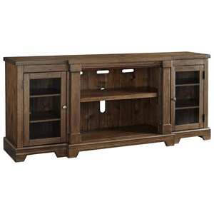 Signature Design by Ashley Flynnter Extra Large TV Stand