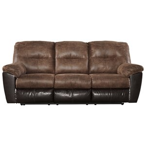 Signature Design by Ashley Furniture Follett Reclining Sofa
