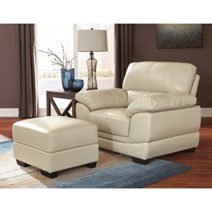 Signature Design by Ashley Fontenot Chair and Ottoman