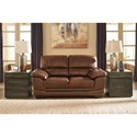 Signature Design by Ashley Fontenot Contemporary Loveseat