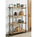Signature Design by Ashley Forestmin Industrial 4-Tier Shelf