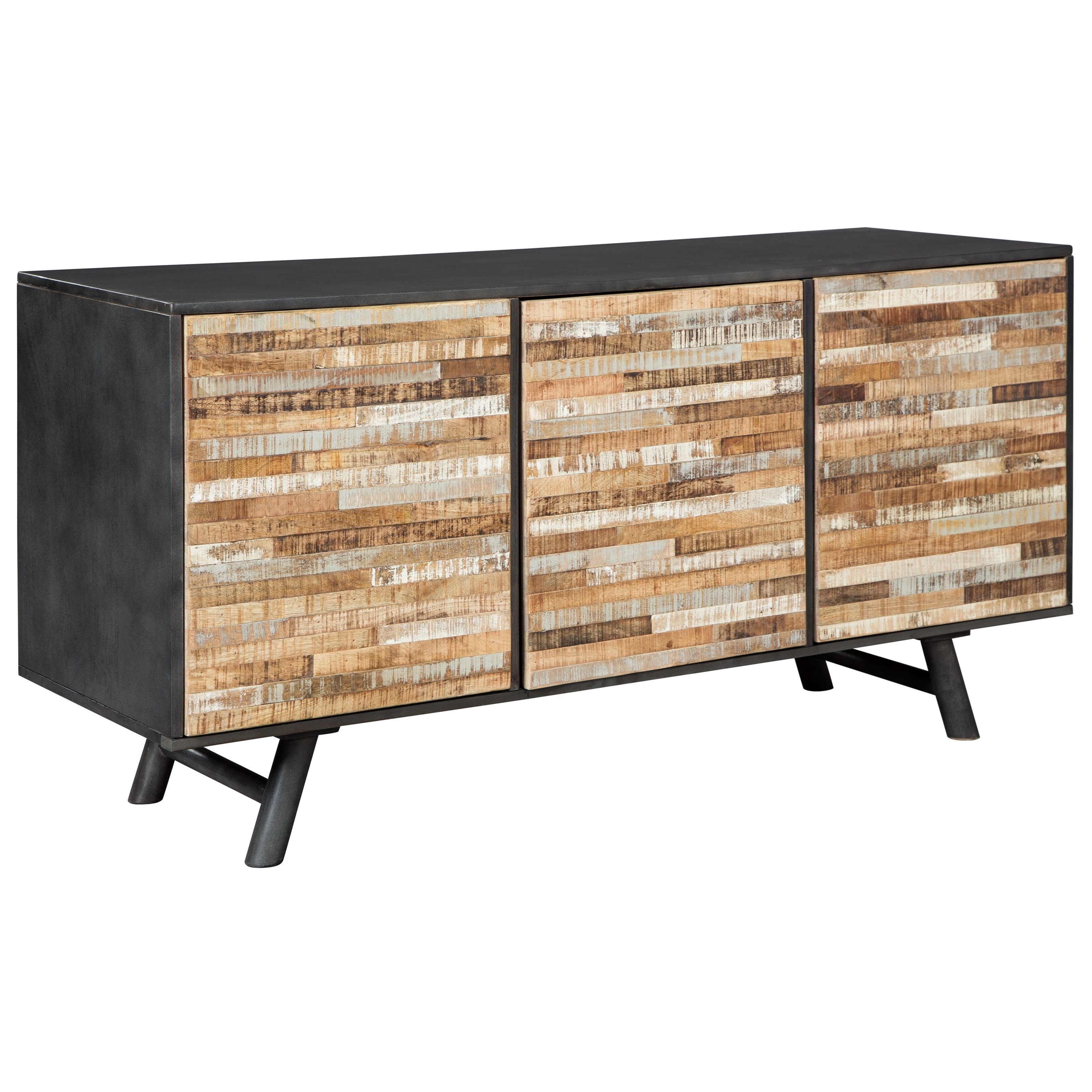 Walentin Accent Cabinet By Ashley Furniture: Signature Design By Ashley Forestmin A4000053 Mid-Century