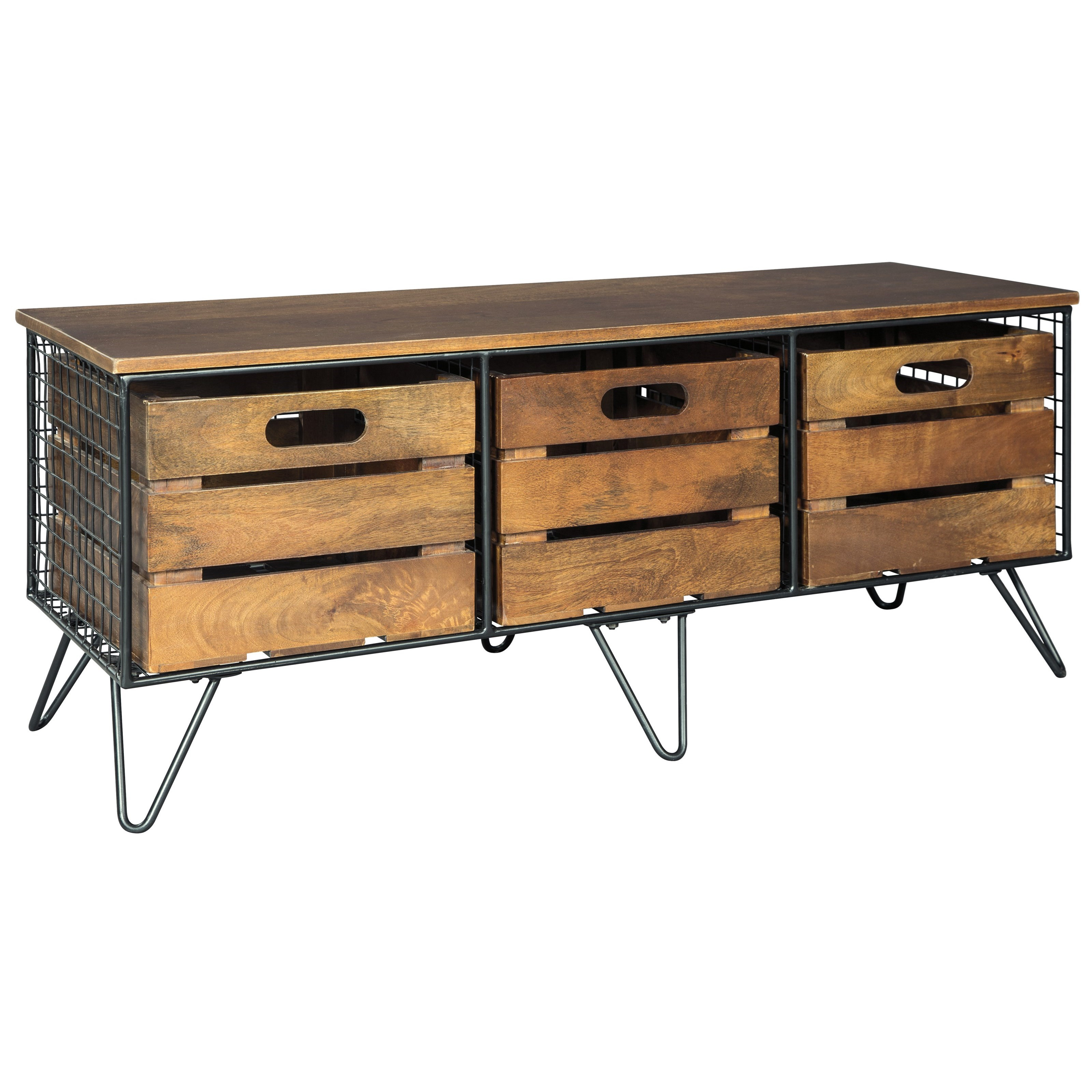 Signature Design by Ashley Forestmin Storage Cabinet - Item Number: A4000054