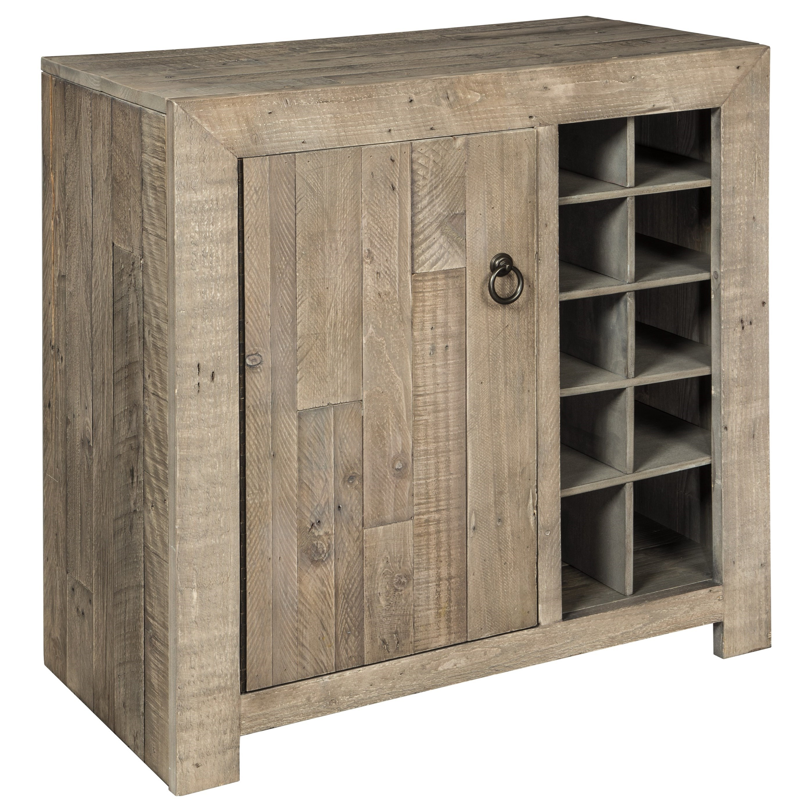 Signature Design by Ashley Forestmin Wine Cabinet - Item Number: A4000063
