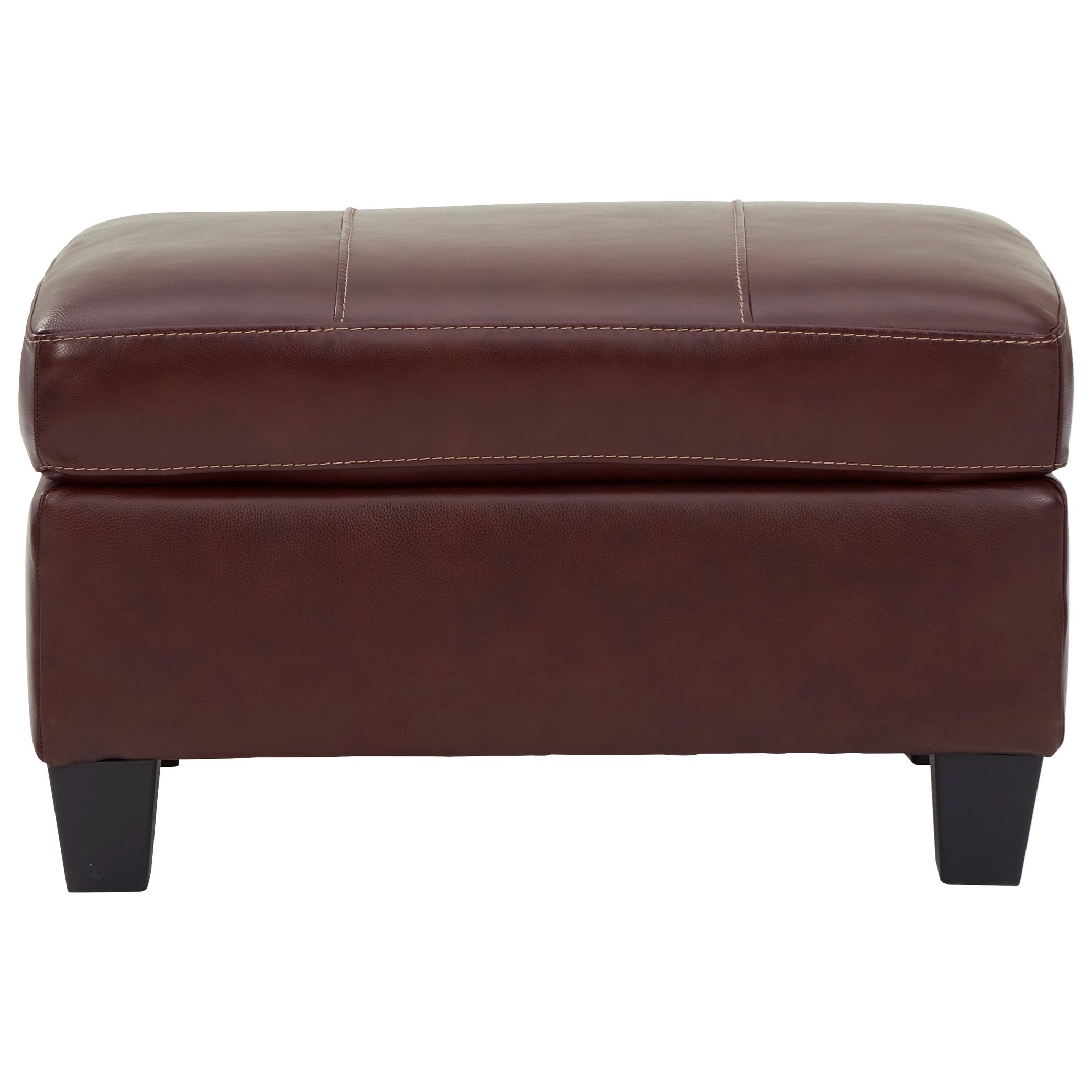 Fortney Ottoman by Signature Design by Ashley at Beck's Furniture