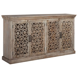Signature Design by Ashley Fossil Ridge Console