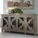 Signature Design by Ashley Fossil Ridge Transitional Accent Cabinet with Adjustable Shelves