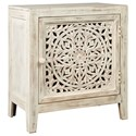 Signature Design by Ashley Fossil Ridge Accent Cabinet - Item Number: A4000008