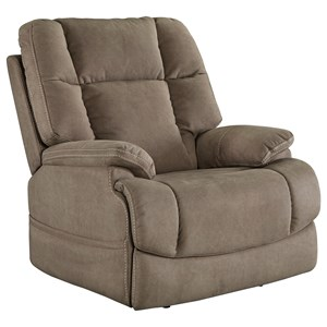 StyleLine Leo Power Recliner with Adjustable Headrest
