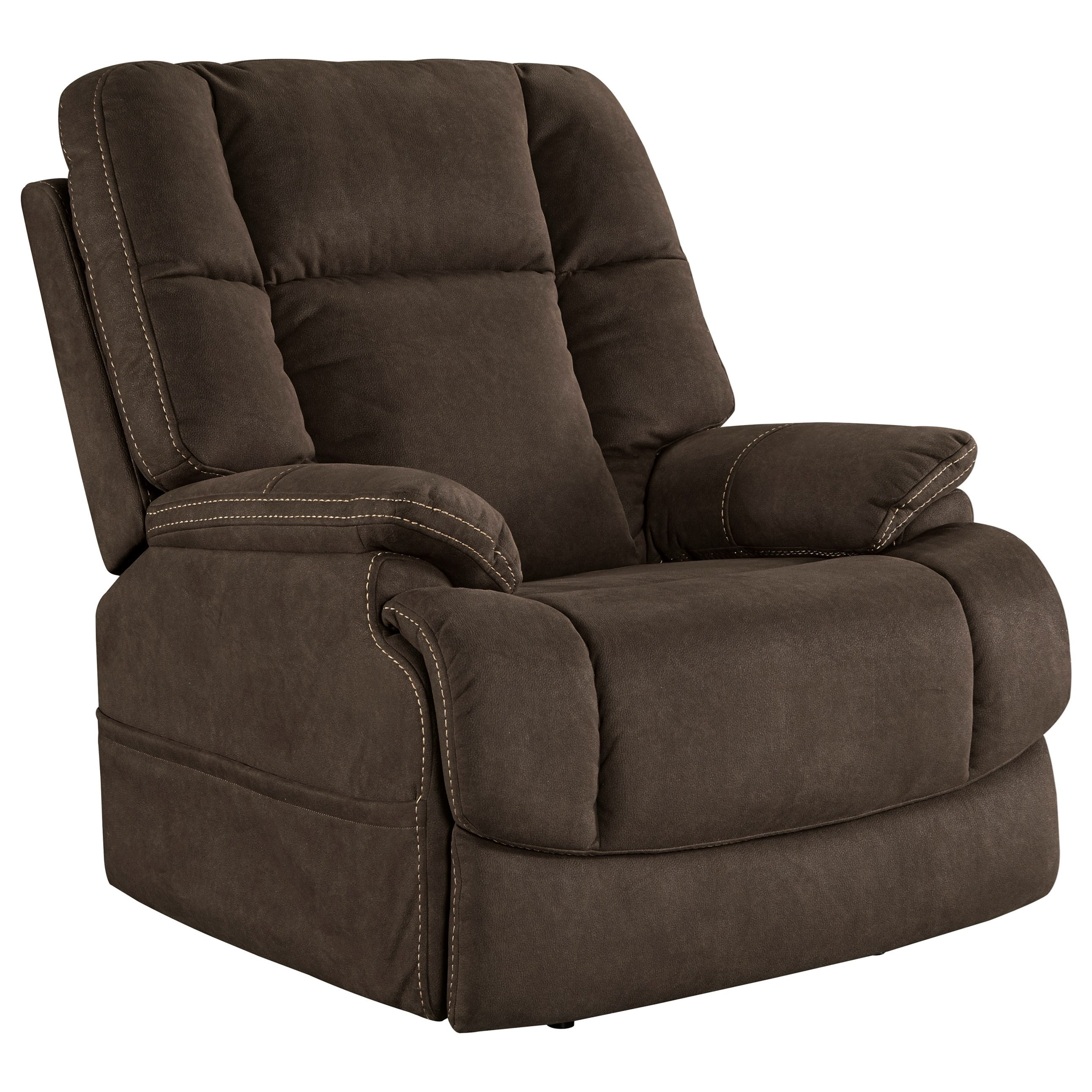 Chair and a half recliner ashley furniture - Ashley Signature Design Fourche Power Recliner With Adjustable Headrest