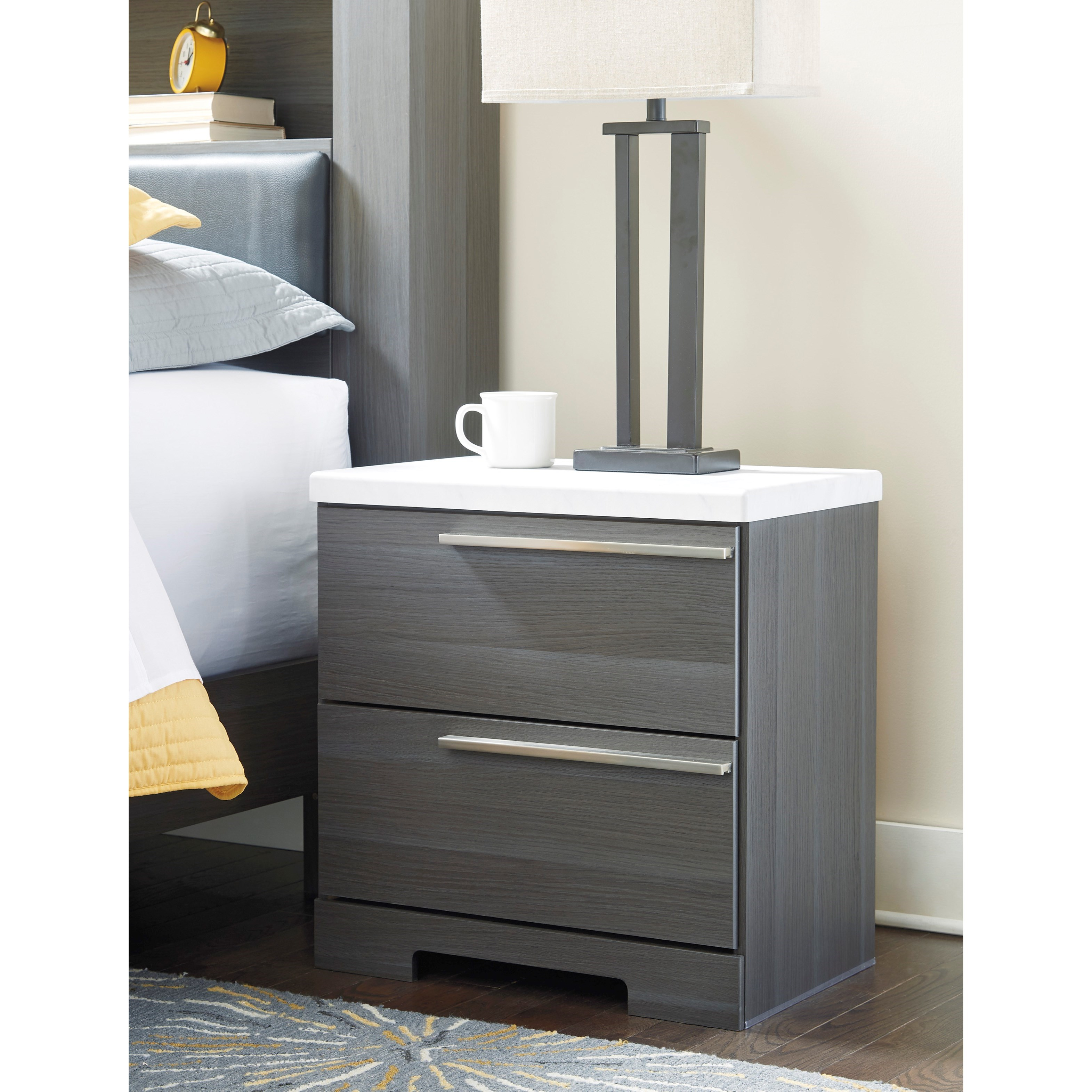 Ashley Furniture Serial Number Lookup Model Search Office: Signature Design By Ashley Foxvale Two Drawer Nightstand
