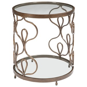 Signature Design by Ashley Fraloni Round End Table