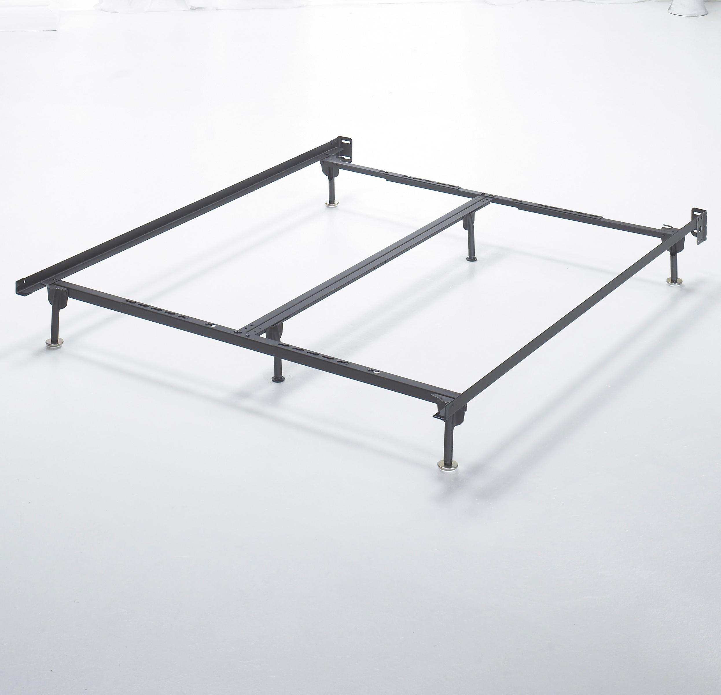 Signature Design by Ashley Frames and Rails Q/K/CK Bolt on Bed Frame - Item Number: B100-66