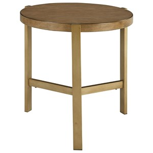 Signature Design by Ashley Franston Round End Table