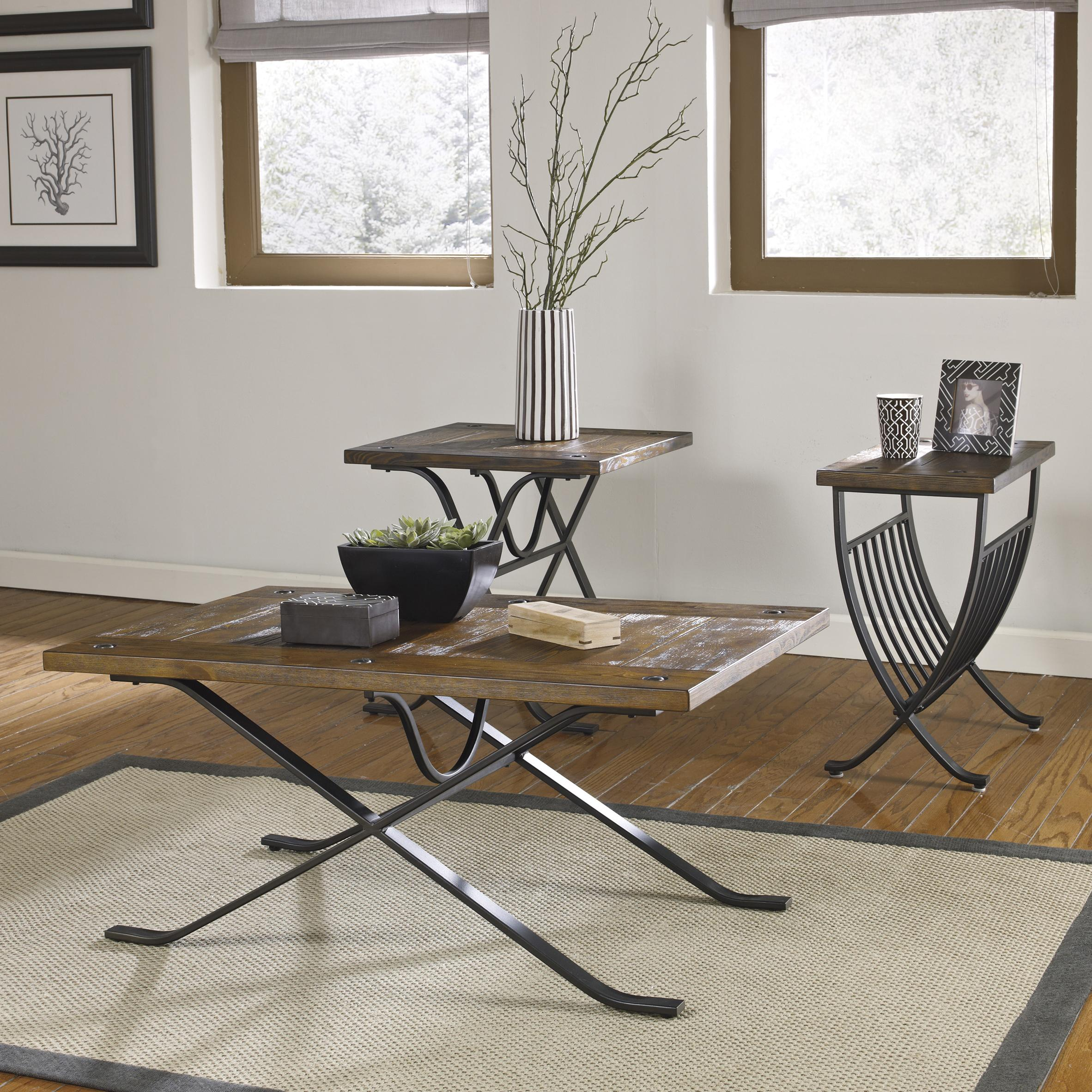 Signature Design by Ashley Freimore Occasional Table Set  - Item Number: T303-13