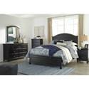 Signature Design by Ashley Froshburg King Bedroom Group - Item Number: B628 K Bedroom Group 2