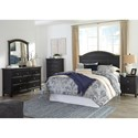 Signature Design by Ashley Froshburg Queen Bedroom Group - Item Number: B628 Q Bedroom Group 1