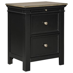Signature Design by Ashley Froshburg 2 Drawer Night Stand