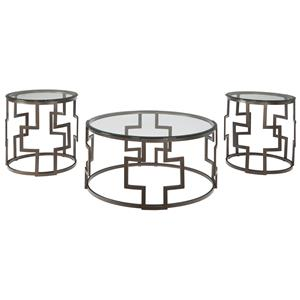 Signature Design by Ashley Frostine Occasional Table Set