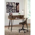 Signature Design by Ashley Fullinfurst Contemporary Home office Desk with Wire Management
