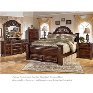 Signature Design by Ashley Gabriela 4pc King Bedroom