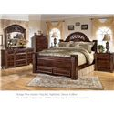 Signature Design by Ashley Gabriela 4pc King Bedroom - Item Number: B347 KB BDMNS