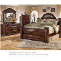 Signature Design by Ashley Gabriela 3PC King Bedroom - Item Number: B347 KG BDM