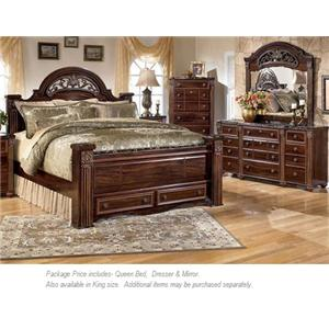 Signature Design by Ashley Gabriela 3PC Queen Bedroom