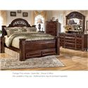 Signature Design by Ashley Gabriela 3PC Queen Bedroom - Item Number: B347 QN BDM