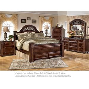 Signature Design by Ashley Gabriela 4PC Queen Bedroom
