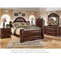 Signature Design by Ashley Gabriela 4PC Queen Bedroom - Item Number: B347 QN BDMNS