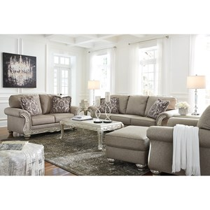 Signature Design by Ashley Gailian Stationary Living Room Group