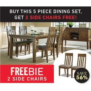 Gainsville Dining Set with Freebie!