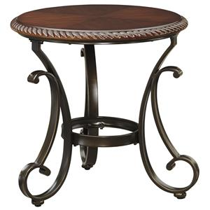 Signature Design by Ashley Gambrey Round End Table