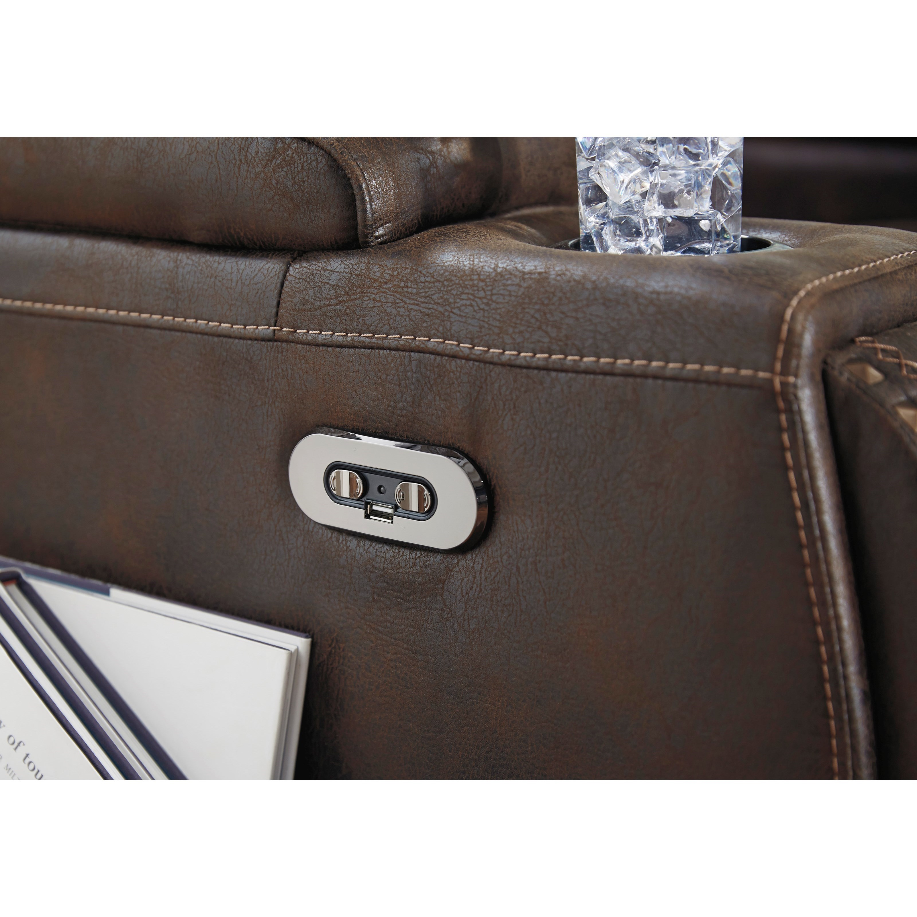 Signature Design By Ashley Game Zone 3850113 Faux Leather
